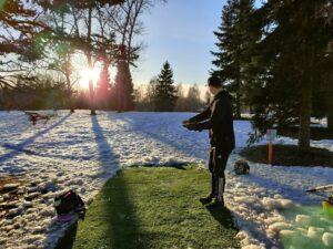 Vihiojan Frisbeepuisto Uusi Väylä 8 - Talvi