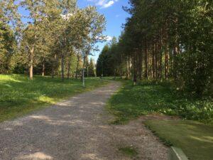 Hervanta frisbeegolfpuisto Väylä 1
