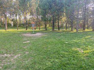 Hervanta frisbeegolfpuisto Väylä 2